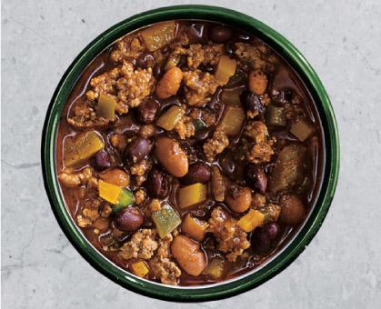 Beef & Bean Chili Verde