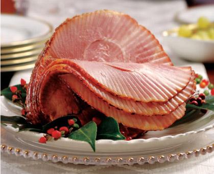 Bourbon and Cola Glazed Ham