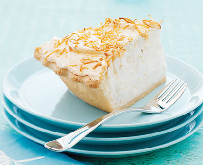 Frozen Coconut Cream Pie
