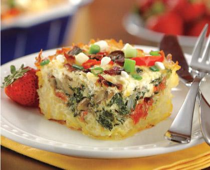 Hash Brown & Egg Bake