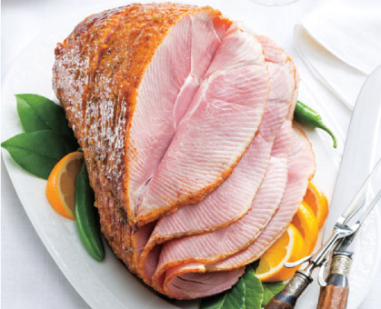 Jalapeño-Mustard Glazed Ham