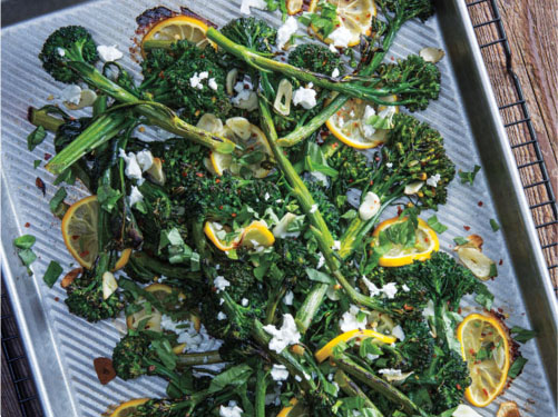 Mediterranean Roasted Broccolini
