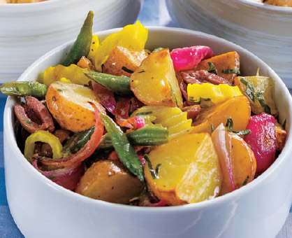 Zesty Red Potato & Green Bean Salad