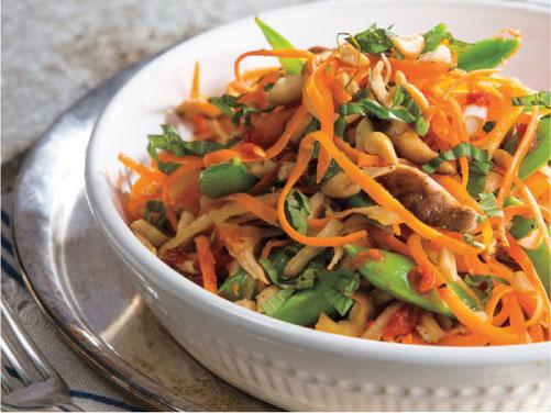 """Asian """"Noodle"""" Stir-Fry"""