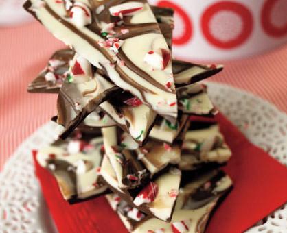 Double-Chocolate Peppermint Bark