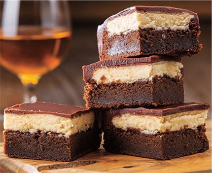 Irish Spiked Brownies