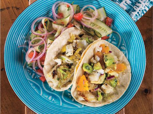 Jalapeño-Lime Grilled Fish Tacos