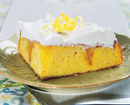 Lemon Surprise Cake