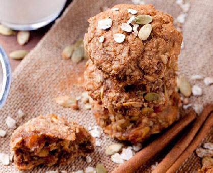 Oat & Nut Butter Breakfast Cookies