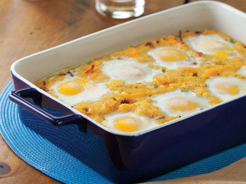 Polenta Breakfast Hot Dish
